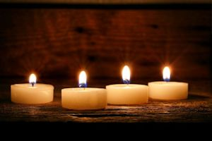 candles healing prayer 300w